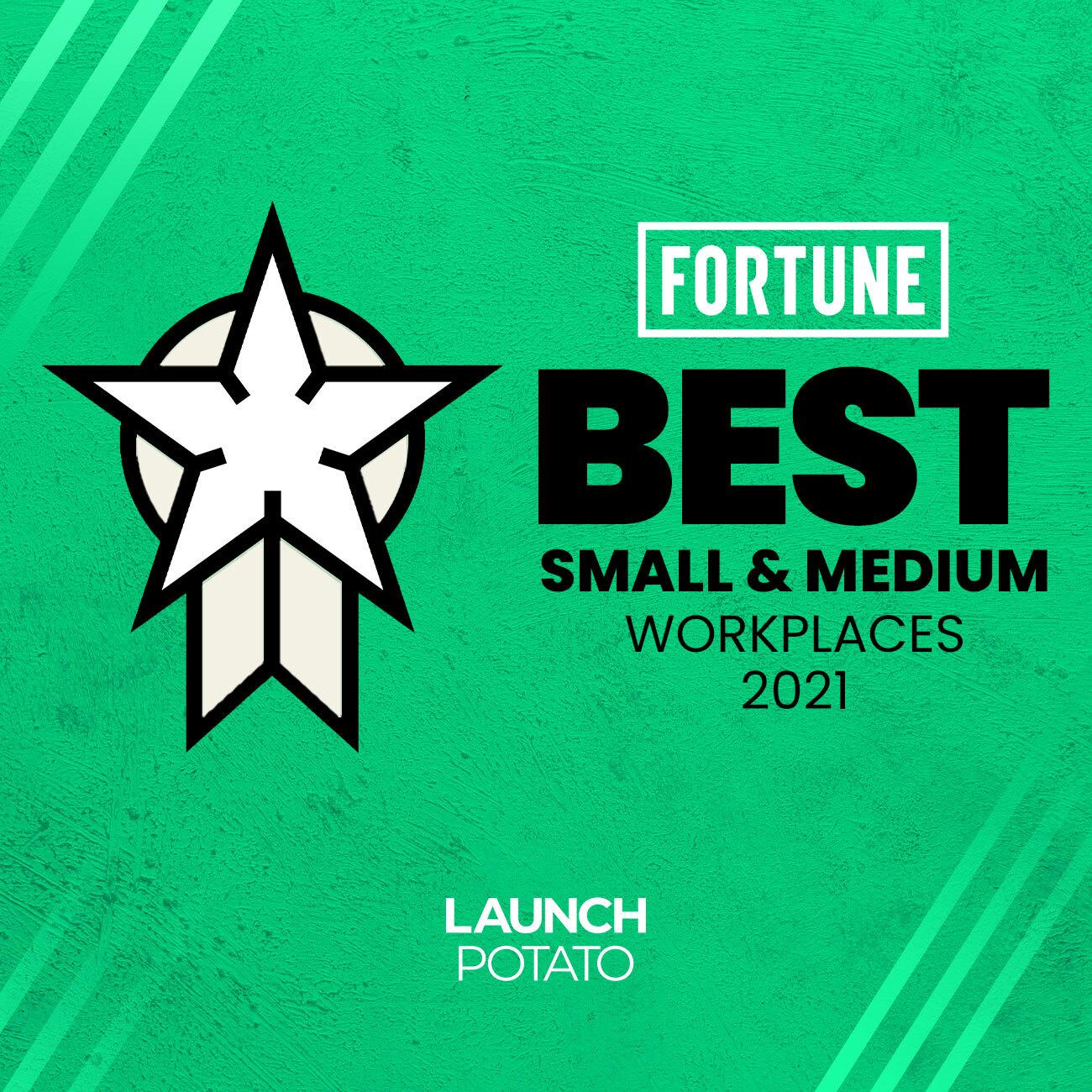 Launch Potato Wins The Sammy